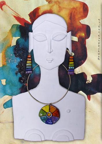 необычные украшения, керамическое панно, ceramic art jewelry, красивый подарок для девушки, индивидуальный, александра иваненко, art prykrasa, bogachkova