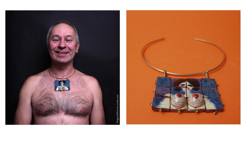 необычные украшения, керамическое панно, ceramic art jewelry, красивый подарок для девушки, индивидуальный, керамические сиськи