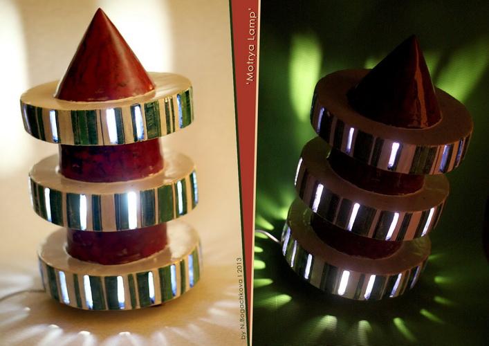 авторские керамические лампы, необычный дизайн интерьера, богачкова , рокета, елка
