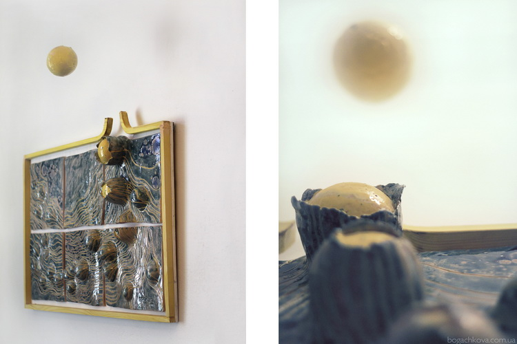 Выход в Абсолют, керамика, Богачкова, керамика на заказ, источник света, философская современная керамика,bogachkova, керамика в интерьере