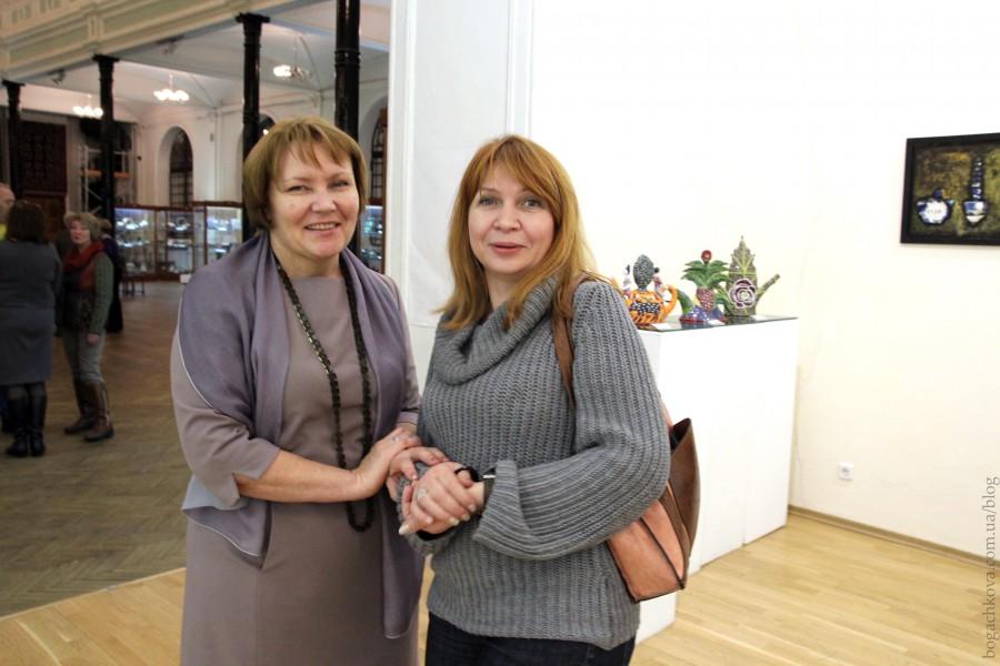 Tanya Zinenko i Iryna Beketova kurator Bog